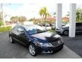 2016 Night Blue Metallic Volkswagen CC 2.0T Sport #122901336