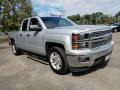 Silver Ice Metallic 2014 Chevrolet Silverado 1500 LT Double Cab