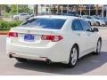 2009 Premium White Pearl Acura TSX Sedan  photo #7