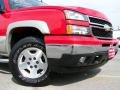 2006 Victory Red Chevrolet Silverado 1500 LS Extended Cab 4x4  photo #2