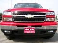 2006 Victory Red Chevrolet Silverado 1500 LS Extended Cab 4x4  photo #3