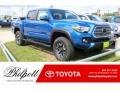 Blazing Blue Pearl 2017 Toyota Tacoma Gallery