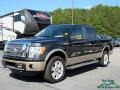 Tuxedo Black Metallic 2011 Ford F150 Lariat SuperCrew 4x4