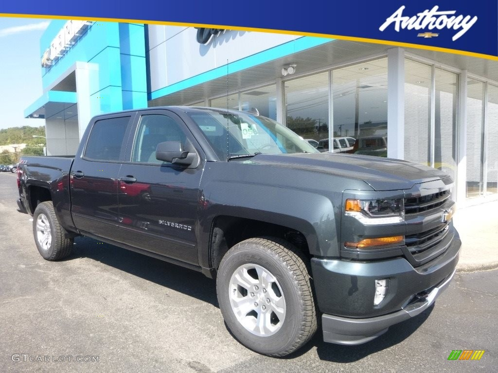 2018 Silverado 1500 LT Crew Cab 4x4 - Graphite Metallic / Jet Black photo #1