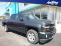 2018 Graphite Metallic Chevrolet Silverado 1500 LT Crew Cab 4x4  photo #1