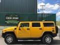 2005 Yellow Hummer H2 SUV  photo #2