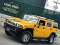 2005 Yellow Hummer H2 SUV  photo #3
