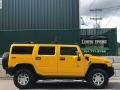 2005 Yellow Hummer H2 SUV  photo #6