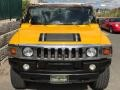 2005 Yellow Hummer H2 SUV  photo #7