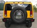 2005 Yellow Hummer H2 SUV  photo #8