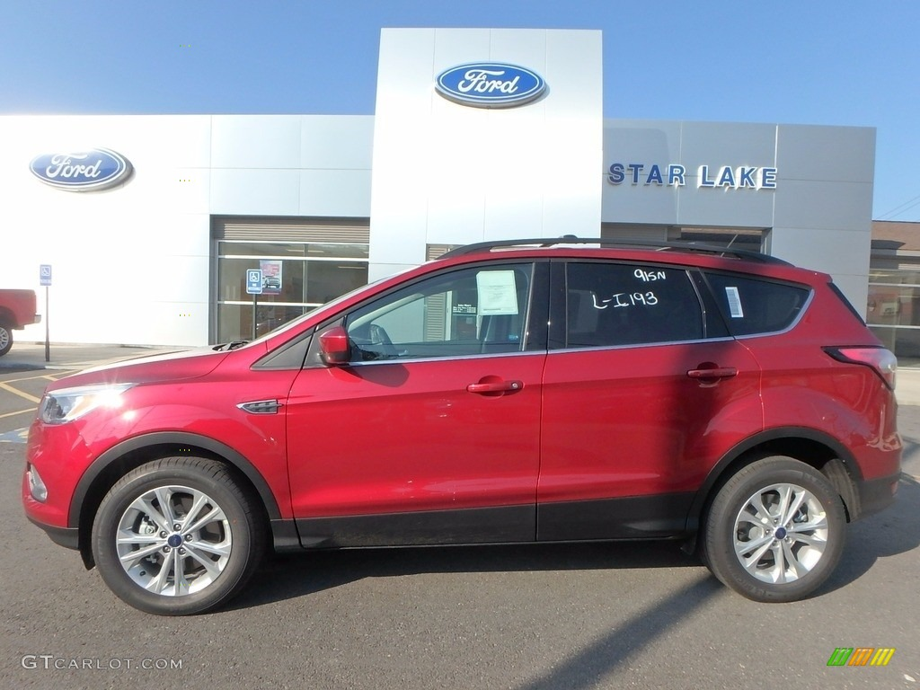 1617ad26f225 2018 Escape SE 4WD - Ruby Red   Charcoal Black photo  1