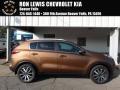 Burnished Copper 2018 Kia Sportage EX AWD