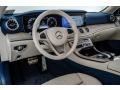 2018 E 400 Convertible Macchiato Beige/Yacht Blue Interior