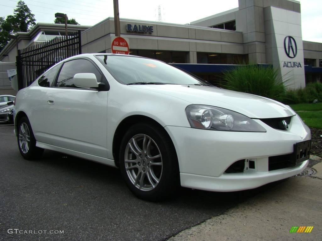 2006 RSX Sports Coupe - Taffeta White / Titanium photo #1