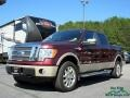 Royal Red Metallic 2010 Ford F150 King Ranch SuperCrew 4x4