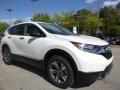 2017 White Diamond Pearl Honda CR-V LX AWD  photo #5