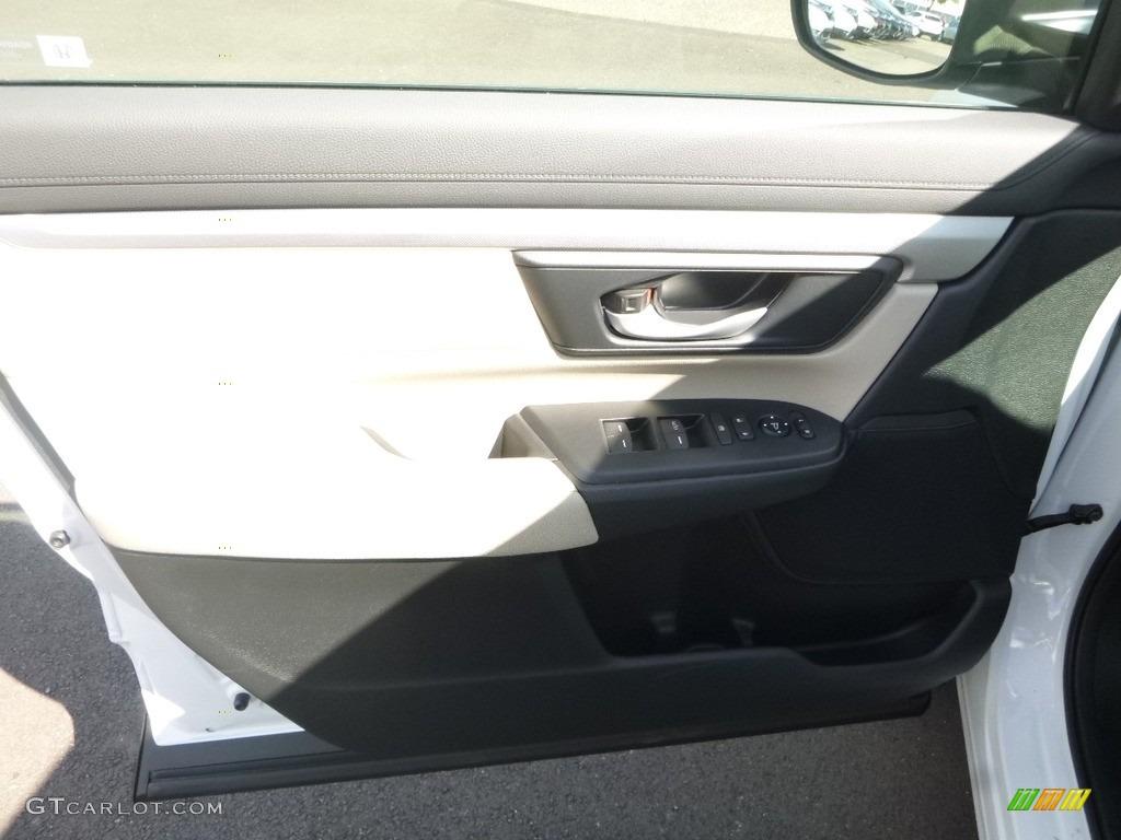 2017 CR-V LX AWD - White Diamond Pearl / Ivory photo #11