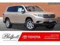 Sandy Beach Metallic 2013 Toyota Highlander Gallery