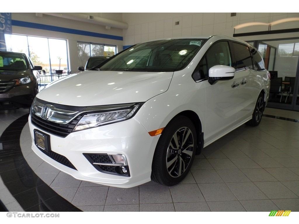 2018 white diamond pearl honda odyssey elite 123051872 photo 10 car color for Honda odyssey 2018 mocha interior