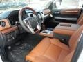 1794 Edition Black/Brown Interior Photo for 2018 Toyota Tundra #123066355