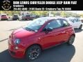 Rosso (Red) 2017 Fiat 500 Pop