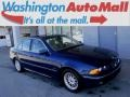 Biarritz Blue Metallic 2000 BMW 5 Series 528i Sedan