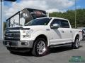 Oxford White 2015 Ford F150 Lariat SuperCrew 4x4