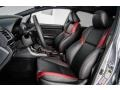 Carbon Black Interior Photo for 2016 Subaru WRX #123132437