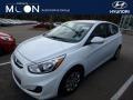 Century White 2017 Hyundai Accent SE Hatchback
