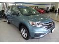 2015 Mountain Air Metallic Honda CR-V LX AWD  photo #3