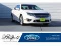 2012 White Platinum Tri-Coat Ford Fusion Sport #123130433