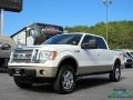 White Platinum Metallic Tri-Coat 2012 Ford F150 Lariat SuperCrew 4x4