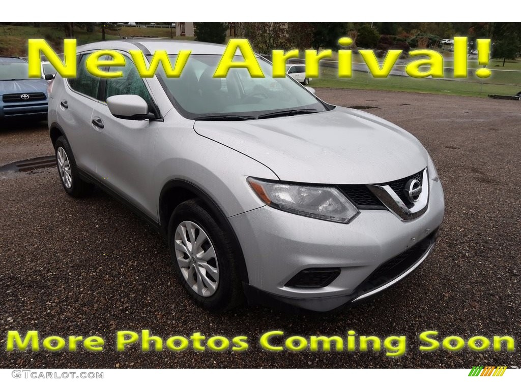 2016 Brilliant Silver Nissan Rogue S Awd 123196134