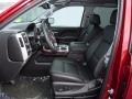 2018 Sierra 1500 SLT Crew Cab 4WD Jet Black Interior