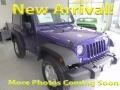 2017 Xtreme Purple Pearl Jeep Wrangler Sport 4x4 #123210209