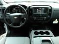 2018 Summit White Chevrolet Silverado 1500 WT Double Cab 4x4  photo #5