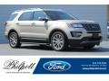 White Gold 2017 Ford Explorer Limited