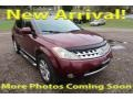2006 Sunset Red Pearl Metallic Nissan Murano SL AWD #123284384