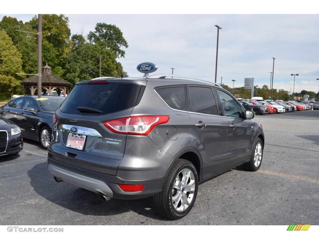 2014 Escape Titanium 1.6L EcoBoost - Sterling Gray / Medium Light Stone photo #3
