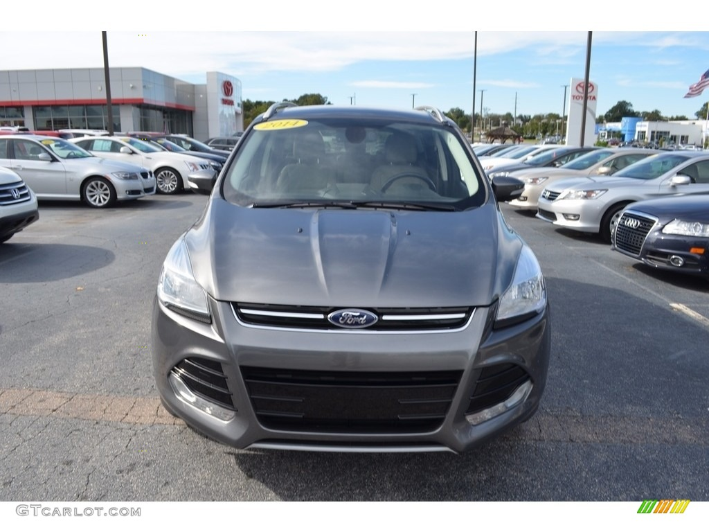2014 Escape Titanium 1.6L EcoBoost - Sterling Gray / Medium Light Stone photo #26