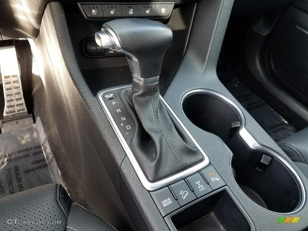 2017 Sportage SX Turbo AWD - Mineral Silver / Black photo #30