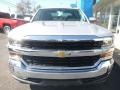 2018 Silver Ice Metallic Chevrolet Silverado 1500 LT Crew Cab 4x4  photo #13