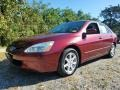 Redondo Red Pearl 2004 Honda Accord EX V6 Sedan