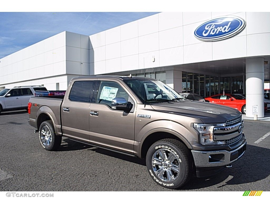 Vin Decoder Ford >> 2018 Stone Gray Ford F150 Lariat SuperCrew 4x4 #123389761 | GTCarLot.com - Car Color Galleries