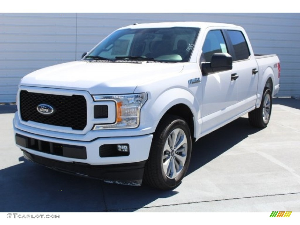 2018 Oxford White Ford F150 STX SuperCrew #123389869 Photo #3 | GTCarLot.com - Car Color Galleries