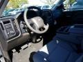 2018 Silver Ice Metallic Chevrolet Silverado 1500 Custom Crew Cab  photo #7