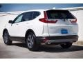 2017 White Diamond Pearl Honda CR-V EX  photo #2