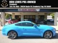 2017 Grabber Blue Ford Mustang GT Coupe #123389724