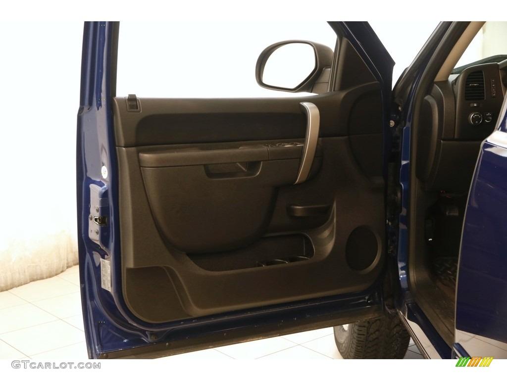2013 Silverado 1500 LT Extended Cab 4x4 - Blue Topaz Metallic / Ebony photo #4