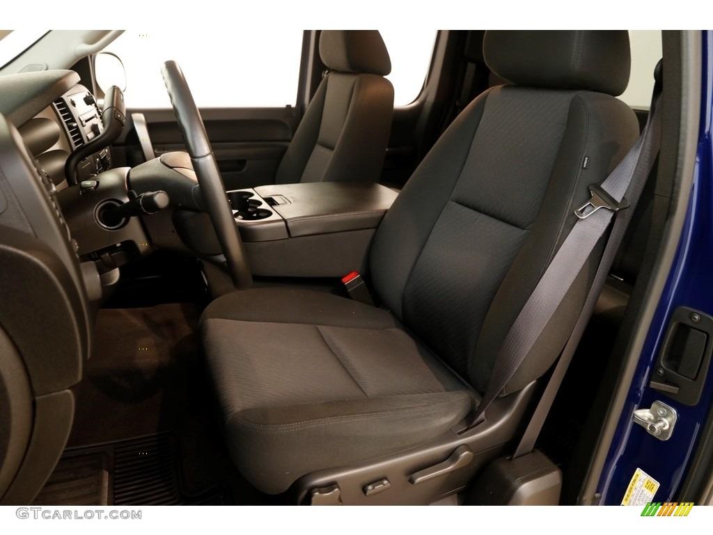2013 Silverado 1500 LT Extended Cab 4x4 - Blue Topaz Metallic / Ebony photo #5